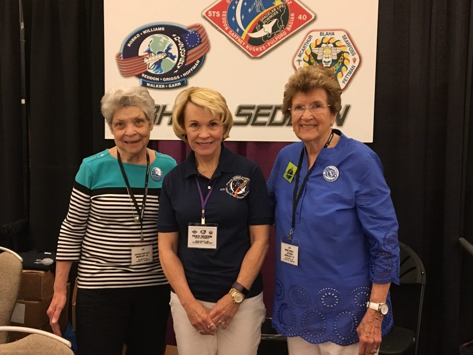 Meeting two of the Mercury 13 at Spacefest 2017