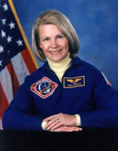 Astronaut Rhea Seddon